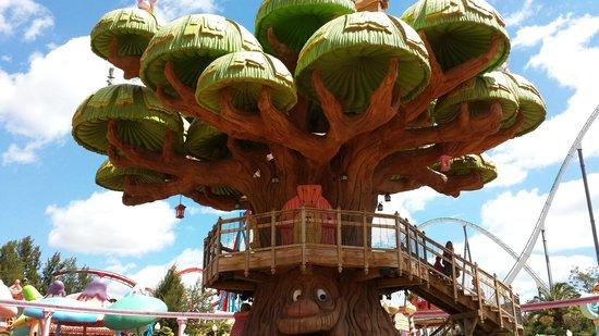 PortAventura Park: l'arbre du sésamo