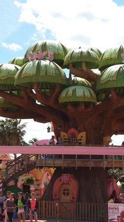PortAventura Park: l'arbre magique du sésamo