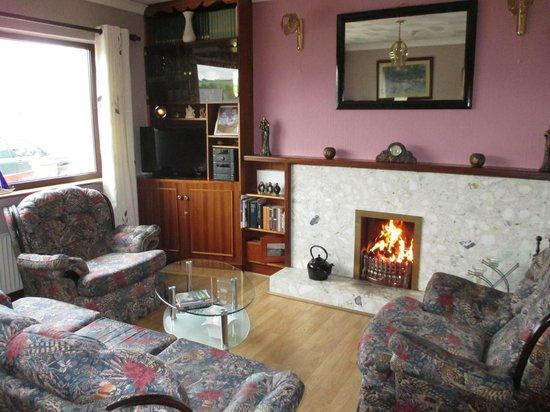 Bru Na Pairc Bed & Breakfast: TV Lounge