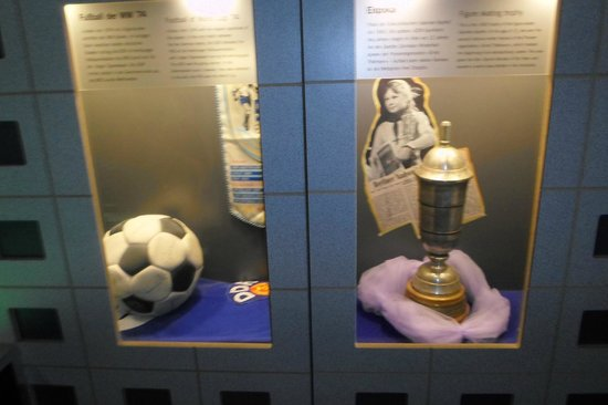 DDR Museum : Football Cups