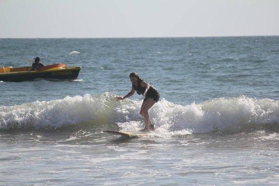 Aqua Sports Center and Scuba Dive: Surfing in Mazatlan