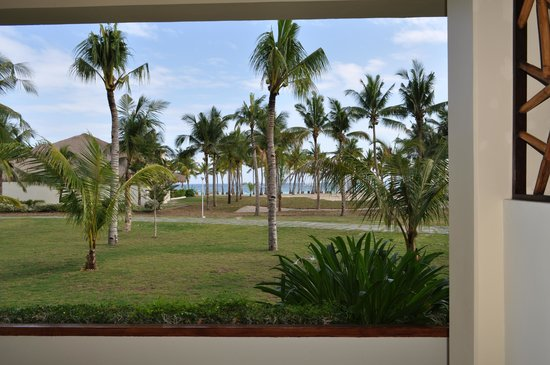 Bohol Beach Club: view from the bedroom