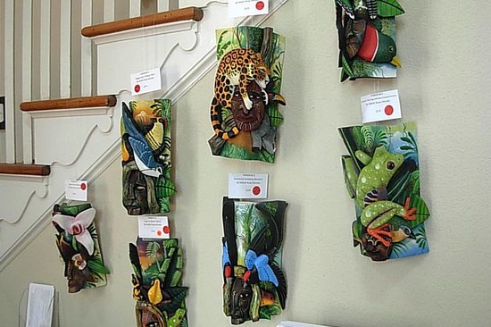 Marie Selby Botanical Gardens: Some of the hundred or so on display