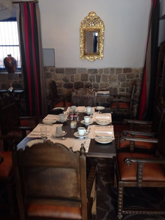 Palacio del Inka, a Luxury Collection Hotel: Breakfast in the Palace
