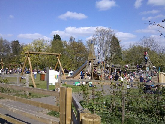 Sandwell Valley Country Park: One of the play areas
