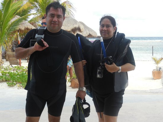 Doctor Dive Costa Maya: Totalmente  Satisfechos