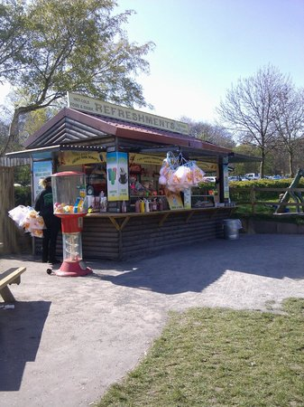Sandwell Valley Country Park: Candy floss?