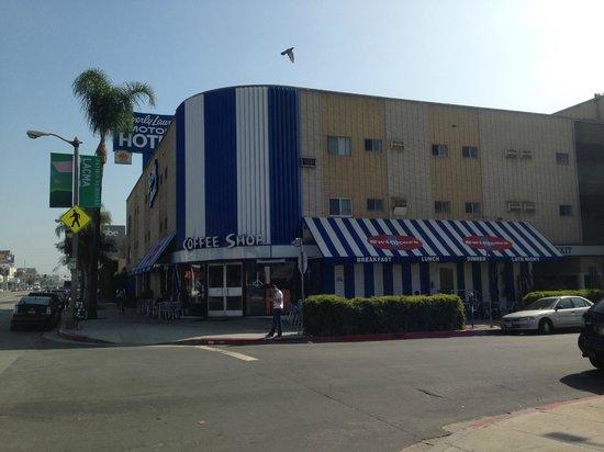 Beverly Laurel Motor Hotel: edificio
