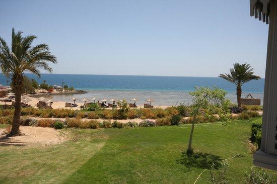 Mercure Hurghada Hotel : Ch 1712 : vue depuis le balcon