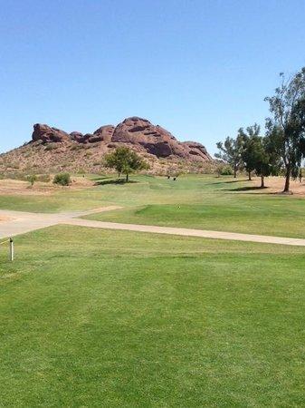 Papago Golf Course: Hole #2