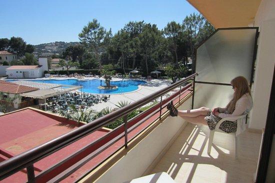 BQ Belvedere Hotel : Pool view