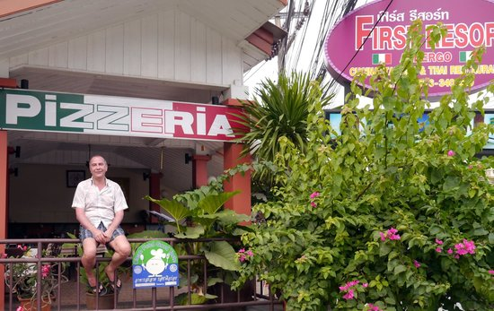 First resort albergo: Пиццерия при отеле