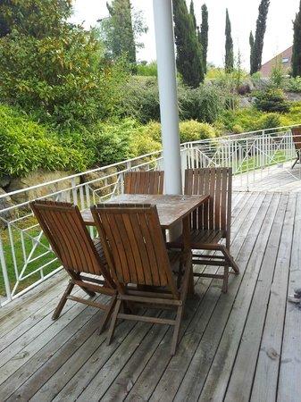 Les Jardins de Beauval : terrasse