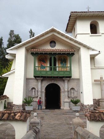 Aranwa Sacred Valley Hotel & Wellness : Antigua Capilla de la hacienda