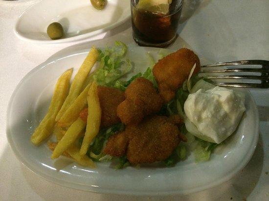 Restaurante Atalaya. Asador y Cocina Marroqui: Lágrimas de pollo