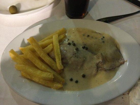 Restaurante Atalaya. Asador y Cocina Marroqui: Solomillito a la pimienta
