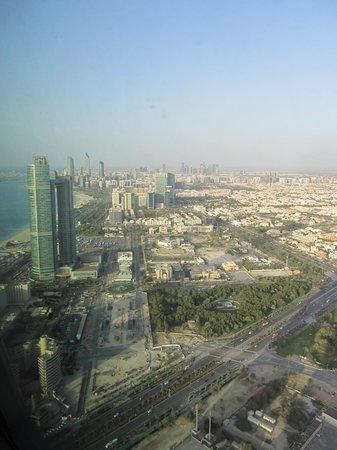 Ray's Bar : Abu Dhabi from up high