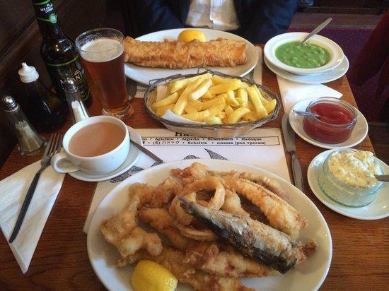 North Sea Fish Restaurant: £37 MEAL ALL inclusive