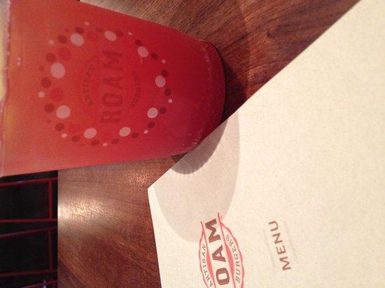 Roam Artisan Burgers: The Home made Soda