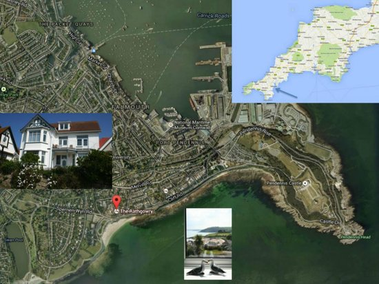 Aerial Location - The Rathgowry Guesthouse