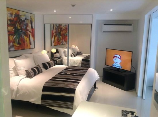BYD Lofts Boutique Hotel & Serviced Apartments: One of the most comfy beds ever...