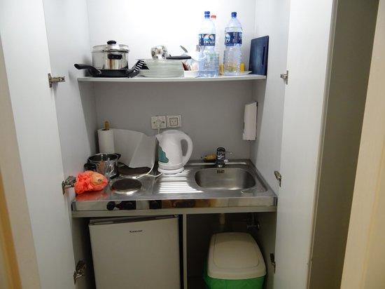 Residence Beach : Кухня