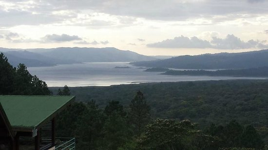 Arenal Observatory Lodge & Spa : View of Lake Arenal from one of the overlook lounges!