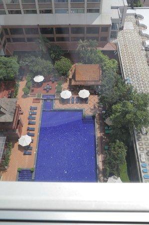 Ramada Plaza Bangkok Menam Riverside: Pool view from room