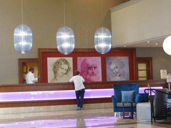Leonardo Plaza Hotel Eilat : Рецепшен