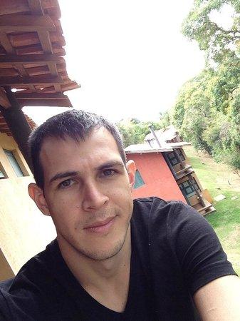 Pousada do Quilombo Resort: Sacada do apartamento