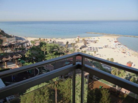 Residence Beach : Вид с балкона