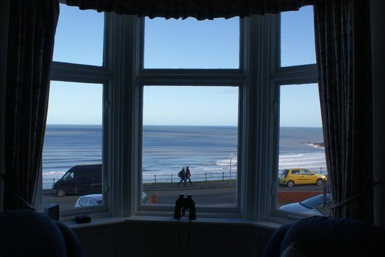 The Croft: View from the dining room.