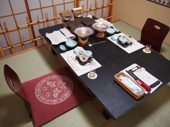 Kaiyutei: Dinner in an exclusive room