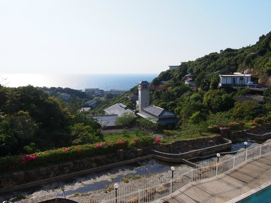 Kaiyutei: Seaview from room