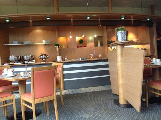 Mercure Angers Centre: Coin buffet du petit-déjeuner