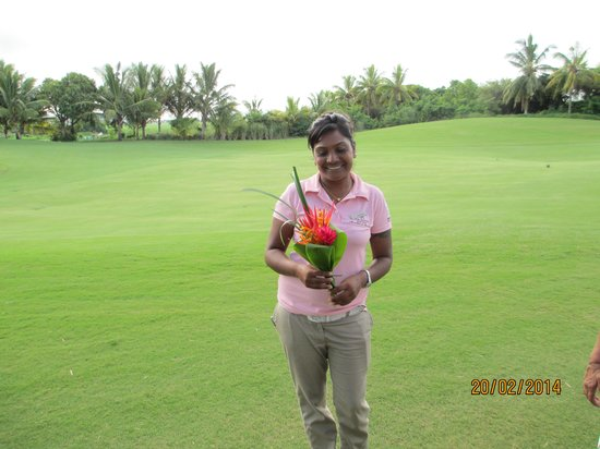 Anahita Golf & Spa Resort : Sweet staff
