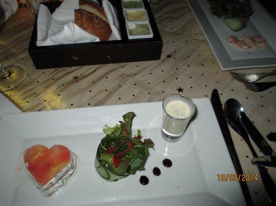 Anahita Golf & Spa Resort : Tasty