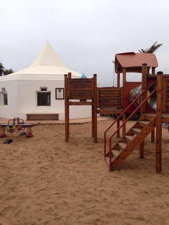 Hotel Riu Palace Tikida Agadir : Kids playground at Riu Tikida Dunas Agadir