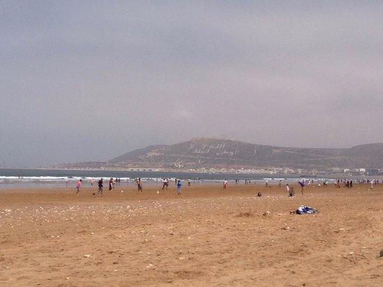Hotel Riu Palace Tikida Agadir : Beach at Riu Tikida Dunas Agadir