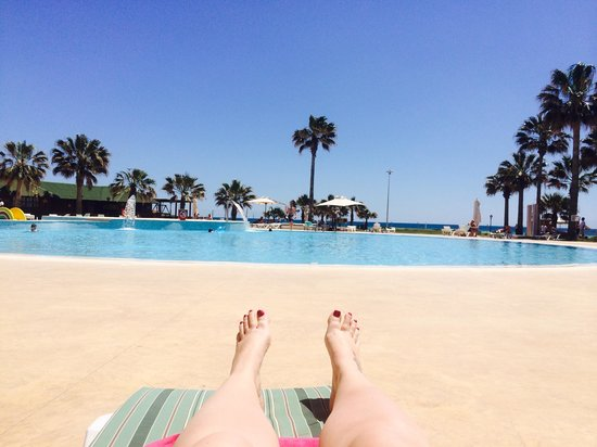 Khayam Garden : The best view from your sun bed!