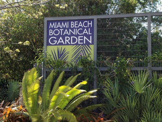 Miami Beach Botanical Garden: Entrance
