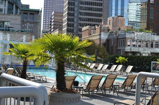 Fairmont Waterfront : The pool