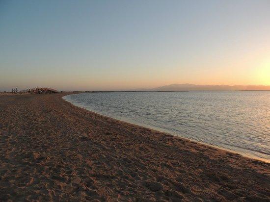Sheraton Soma Bay Resort: last sun light for the day