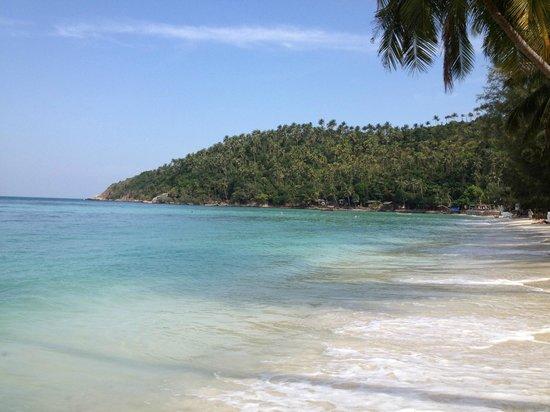 Seetanu Bungalows: la plage