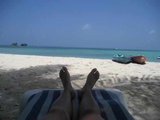 Cocoplum Beach Hotel: Playa del hotel cocoplum