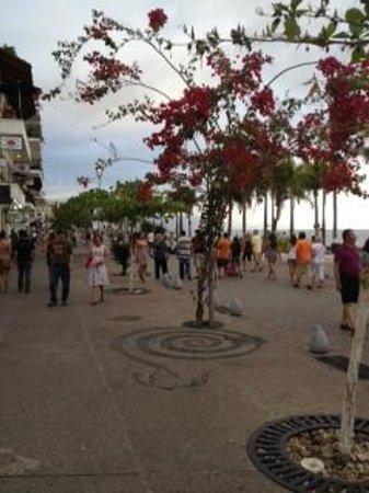 The Grand Mayan Nuevo Vallarta: Downtown PVR (Malecon)