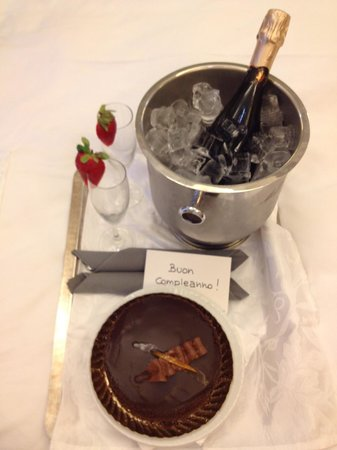Hotel Isa: Special birthday surprise!