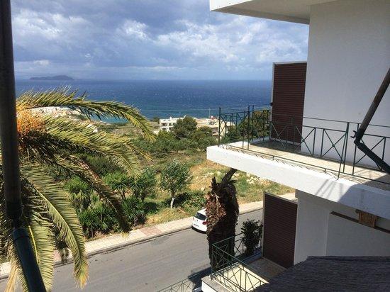 Akrotiri: View from the main hotel balcony