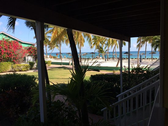 Pineapple Beach Club Antigua : View from garden view room