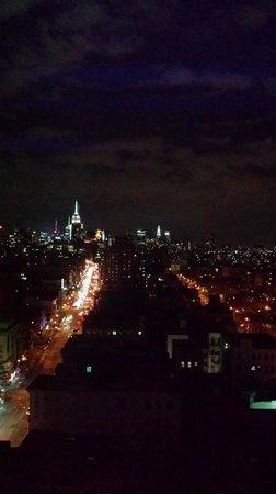 Wyndham Garden Chinatown: View from rooftop lounge